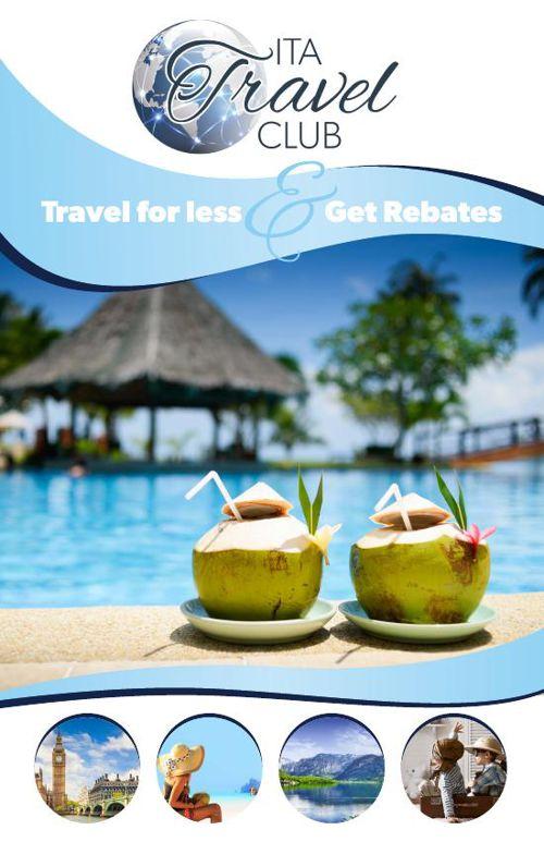 ITA Travel Club   Travel for Less & Get Rebates