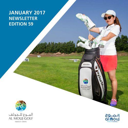 Almouj Golf Newsletter January 2017