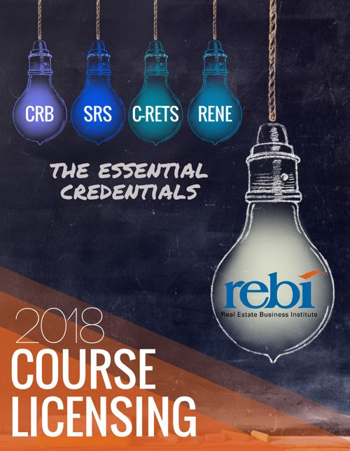 2018 REBI Course Licensing