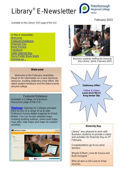 E-Newsletter Feb 2015