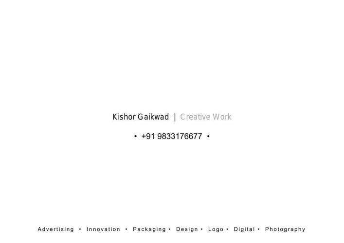 Gaikwad Creative Portfolio