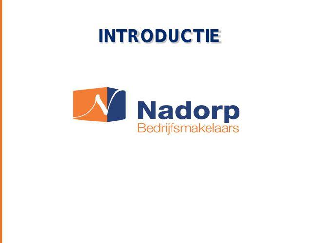 Presentatie introductie Nadorp