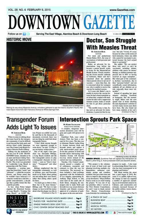 Downtown Gazette  |  February 6, 2015