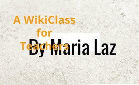 A wiki class for teachers