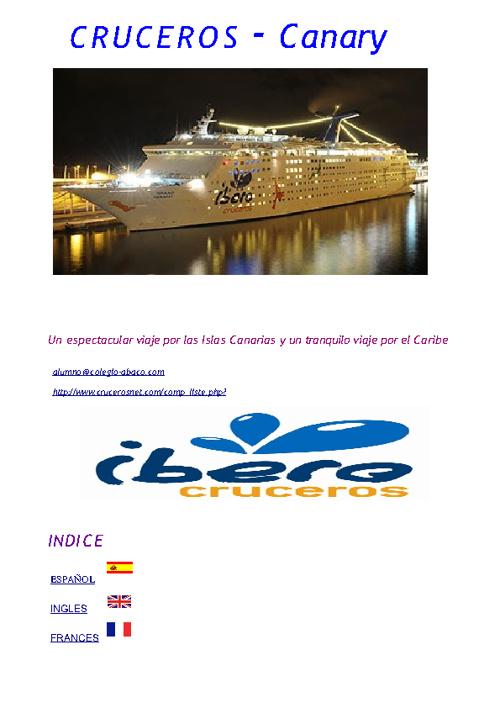 Cruceros Esther Tejedor