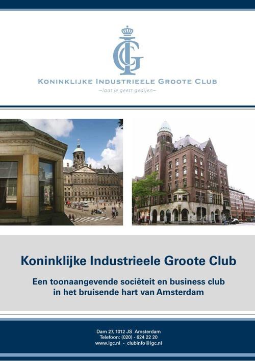 Informatiebrochure lidmaatschap Koninklijke IGC 2015