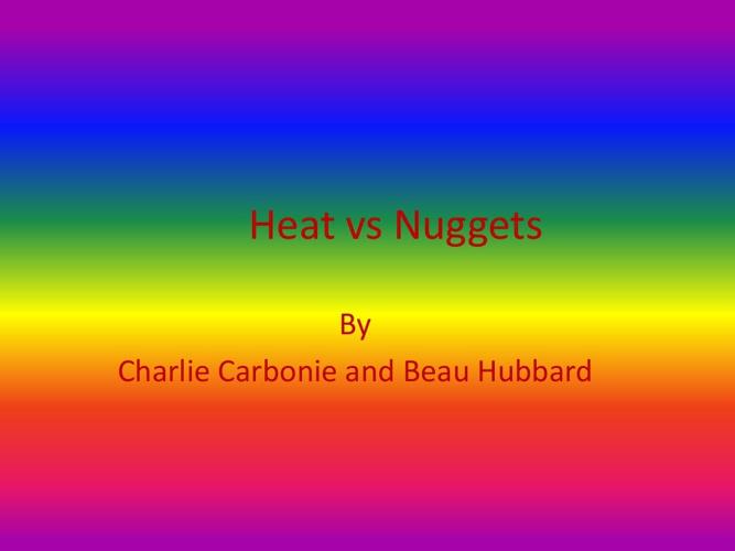 HeatvsNuggets