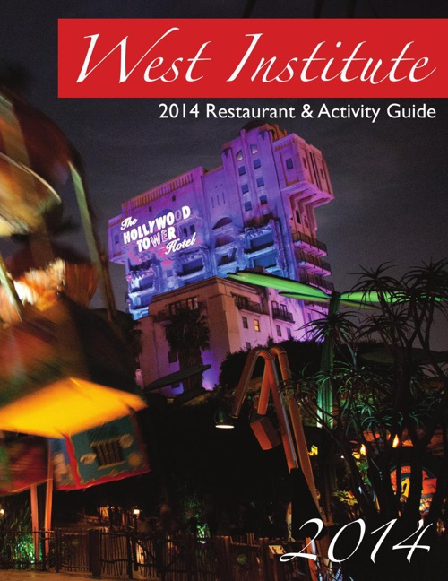 West Institute Restaurant Guide 2014