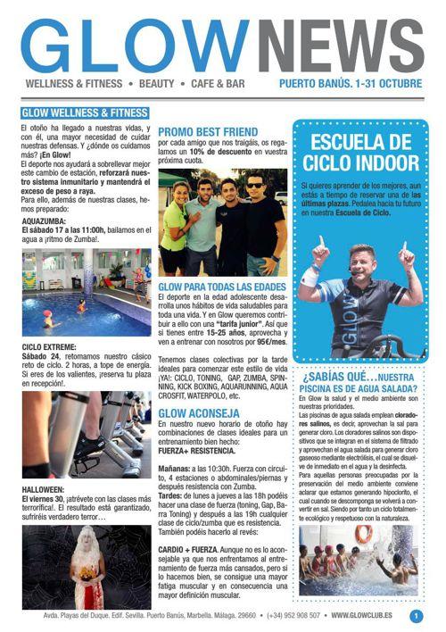 Revista Glow Marbella 1/10 al 31/10