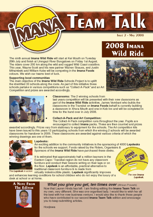 Imana Issue 2 May 2008