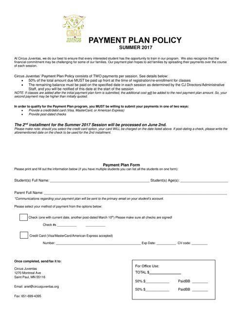 SM17_Payment_Plan_form