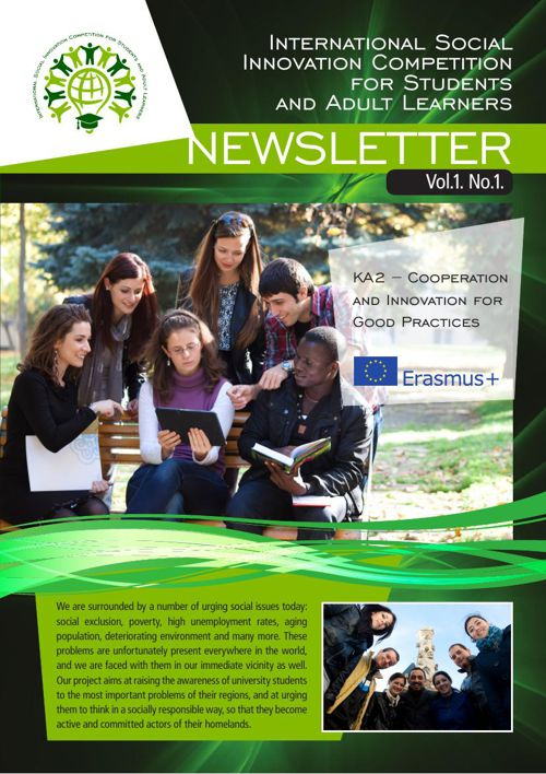 I-SICS Newsletter Vol.1. No.1.