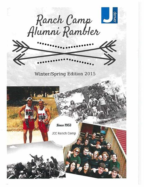 Ranch Camp Alumni Rambler - Winter/Spring Edition 2015