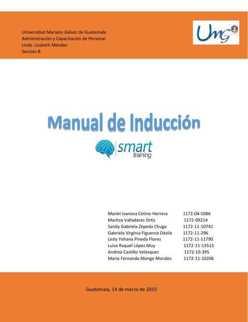 Manual de Inducción Empresa La Lechera