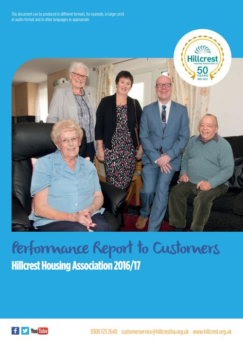 Hillcrest Tenants Report 2017