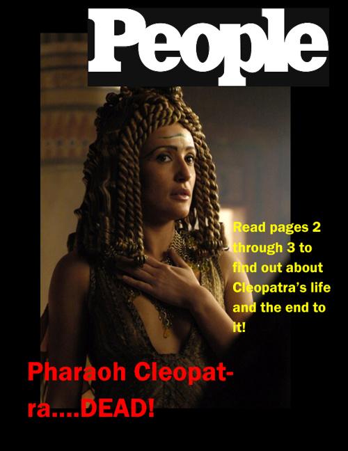 Cleopatra Draft - Spadaro