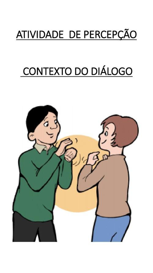 Copy of Copy of DIÁLOGO PERCEPÇÃO