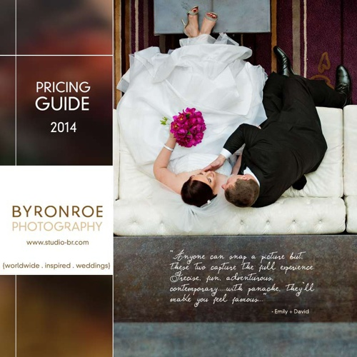 2014 BRP Wedding Brochure