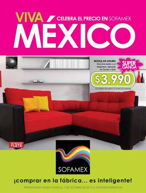 Catálogo SOFAMEX septiembre