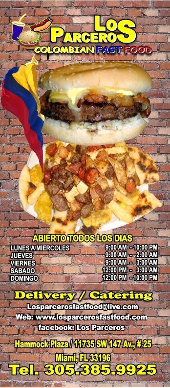 Amawebs - Los Parceros Food