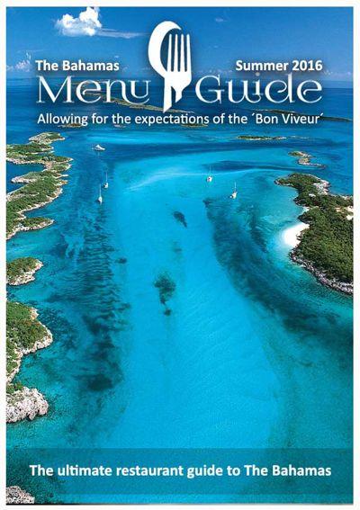 The Bahamas Menu Guide
