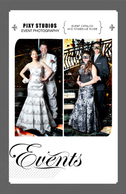 Pixy Studios Event Brochure
