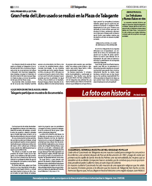 Municipalidad de Talagante | El Talagantino - Periódico comunal