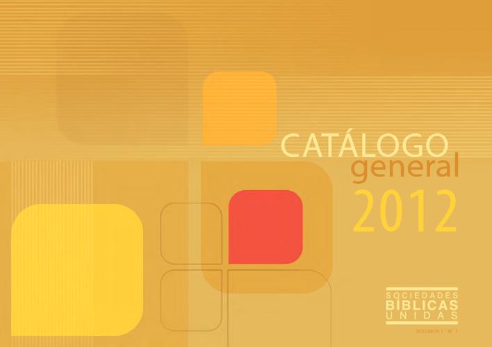 Catálogo General de Biblias 2012