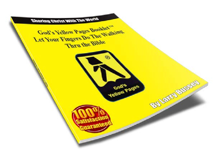 God's Yellow Pages Booklet