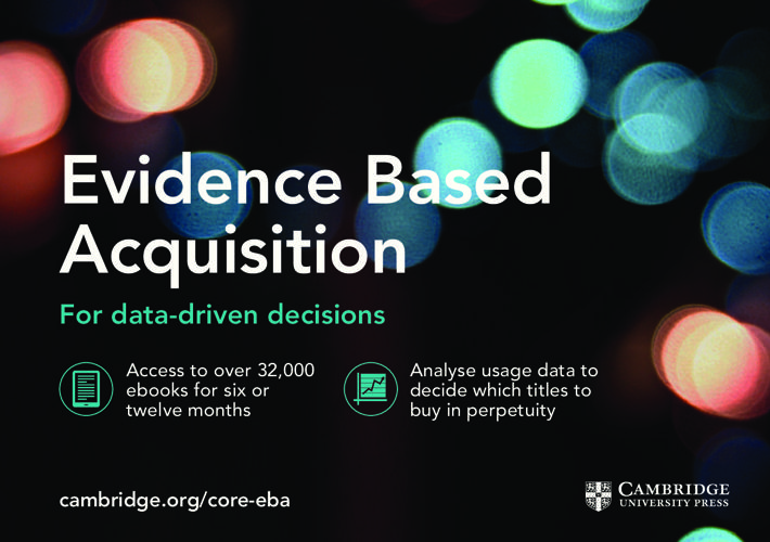 2016 Evidence Based Acquisition leaflet
