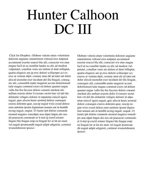 DCIII MMA