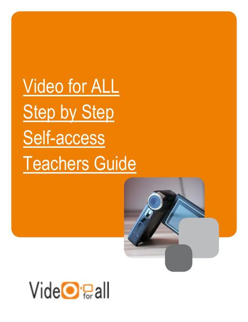VideoforALL Step by Step Self Access Course