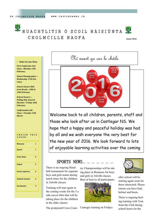 Newsletter January 2016 2