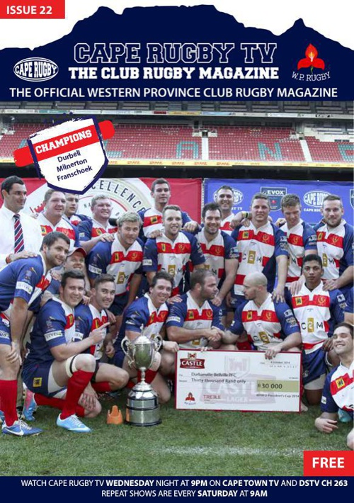 Cape Rugby TV ISSUE 22