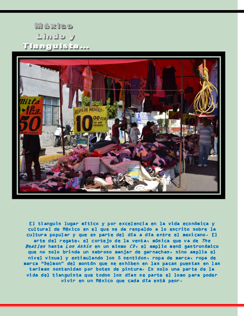 Reportaje sobre los Tianguis
