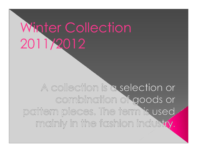 Aygül´s Choices Winter Fashion