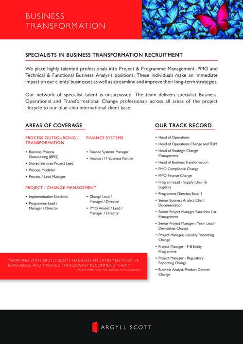 Argyll Scott - APAC Business Transformation