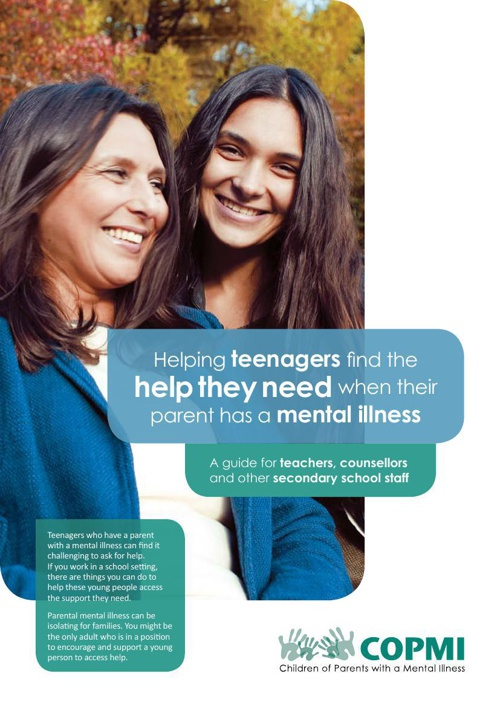 Helping teenagers find the help they need when their parent has