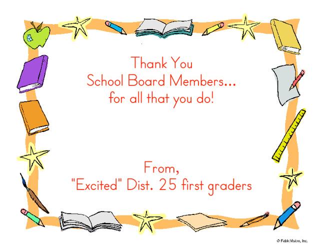 Thank You Board Members