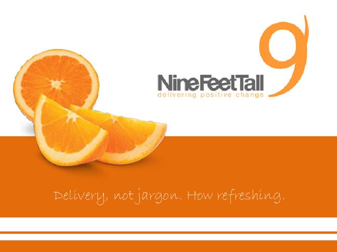 Nine Feet Tall Brochure