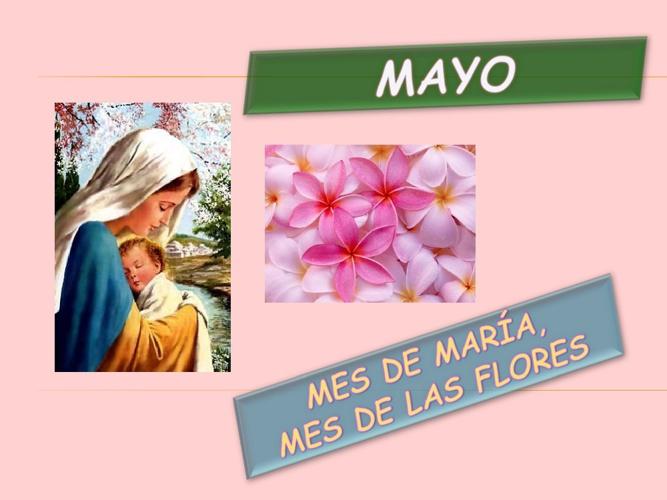 Oración de la mañana mayo