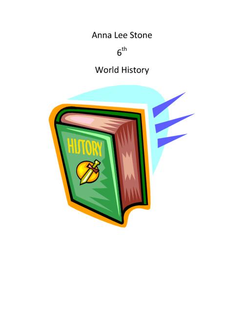 Anna Lee Stone 6th World history