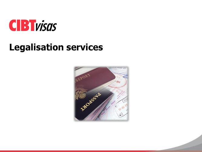 4. Legalisation services - June 2016
