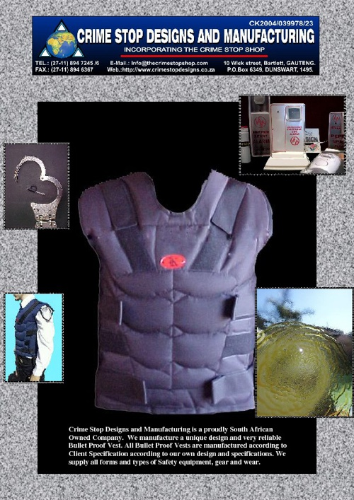 Crime Stop Designs and Manufacturing