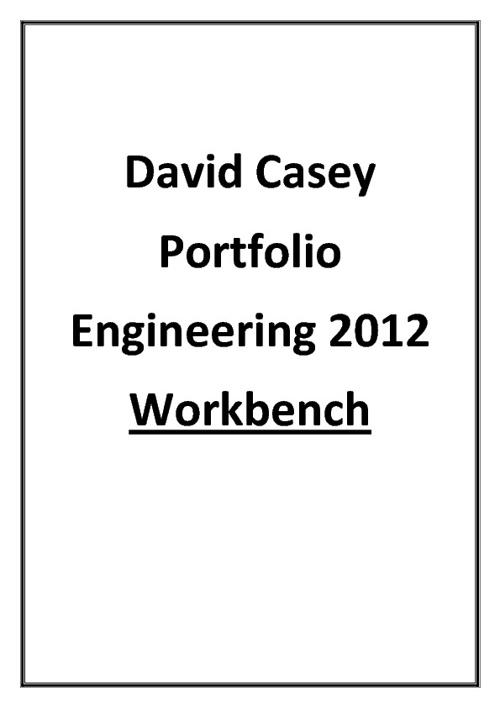 Engineering Portfolio