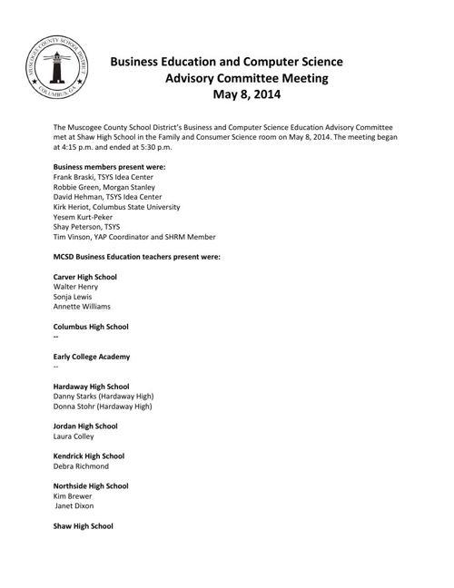 May 8 2014 Agenda