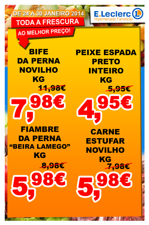 Folheto Loja 24 a 30/01/2014