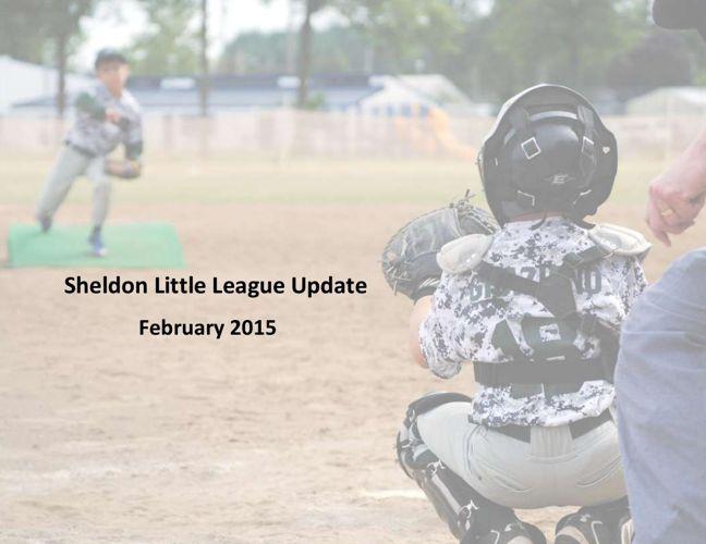 2015 Sheldon Little League - Season Preview