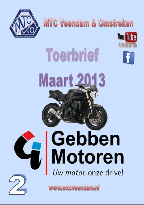 MTC Toerbrief Maart 2013
