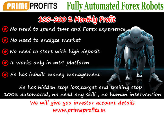 Best Forex Robot | No loss Forex Robot